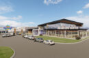 Artist rendering of proposed building at Expo Center.